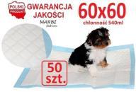 Podkłady maty pieluchy dla psa kota 60x60 chłonne