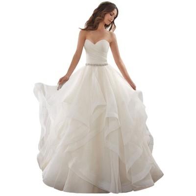 Suknia ślubna Księżniczka Balowa Serce 32 Xxs 6866594364