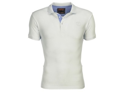 Koszulka męska polo OMBRE S594 ecru S