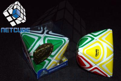 Kostka Rubika Calvin's Dinomorphix white NETCUBE