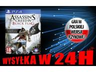 ASSASSIN'S CREED IV BLACK FLAG PS4 PL - Wys w 24H!