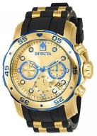 Invicta Men's Pro Diver Quartz Watch with Gold Dia