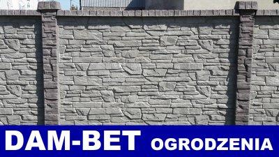 Ogrodzenie Ogrodzenia Betonowe Barwione Kolor 6452691001