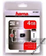 HAMA karta micro SDHC 4GB Class 6 NAWIGACJA GPS