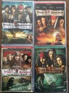 PIRACI Z KARAIBÓW 1,2,3,4 DVD