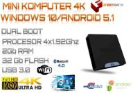 MINI PC SYSTEMY WINDOWS10/ANDROID LICENCJA