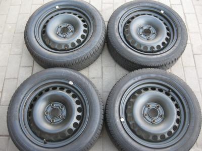 AUDI A2 5x100 ET34 5,5J  175/60r15  CONTI 6mm LATO