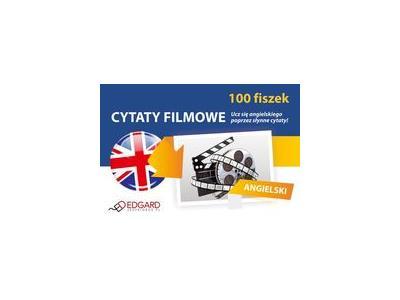 Angielski 100 Fiszek Cytaty Filmowe Wróblewska 6947147795