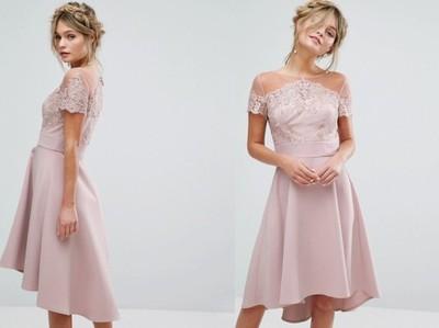 2d595a876d62 Np09 0n Chi Chi London Sukienka Midi Koronka 40 L 6921802552