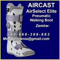 But Ortopedyczny AIRCAST AirSelect Elite Long