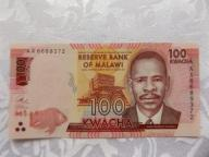 MALAWI 100 KWACHA 2016 r. STAN ( UNC )
