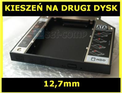 KIESZEŃ SATA 12.7mm NA DRUGI DYSK Y550 Y560 Y570