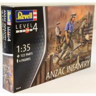 Model do sklejania REVELL Figurki Anzac Infantry 1