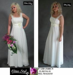 Sukienkasuknia Slubnaelwira Elitee Styl Torun 4429068702