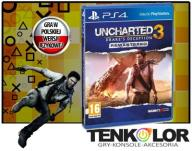 UNCHARTED 3 DRAKES DECEPTION REMASTERED HD PS4 PL
