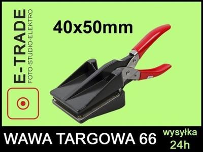 WYCINARKA DO ZDJĘĆ 40x50 mm 4x5 cm PROSTE ROGI