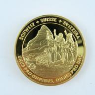 Numizmat - Szwajcaria - Góry - lustro - B194