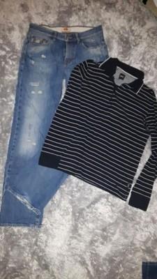 zestaw ubrań Hilfiger Lauren Hugo Boss Zara M/L