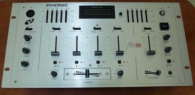 Klubowy mikser PHONIC MX500 BCM OKAZJA !