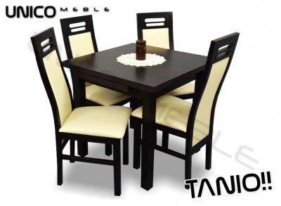 Zestaw Almeria Stół I 4 Krzesła Do Salonu Tanio 6405632186