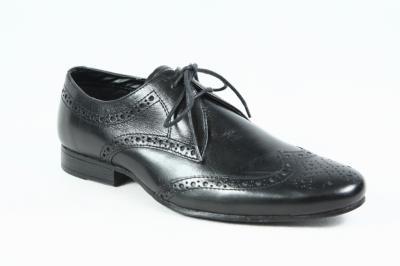 4991a2014d4ed buty męskie skórzane GEORG oksfordy brogsy 39 nowe - 5968834867 ...