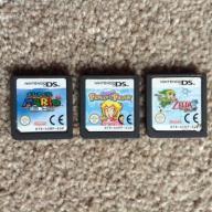 3 GRY. Mario64, Princess Peach, Zelda. ANG. PAL