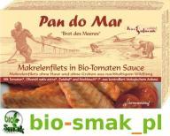 MAKRELA W BIO SOSIE POMIDOROWYM 120 g PAN DO MAR