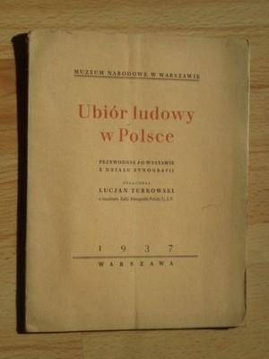 UBIÓR LUDOWY W POLSCE LUCJAN TURKOWSKI 1937 R