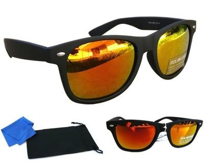 92e8c9e5dd1f1d Okulary Przeciwsłoneczne Wayfarer Kolorowe Polaryz 6728433695
