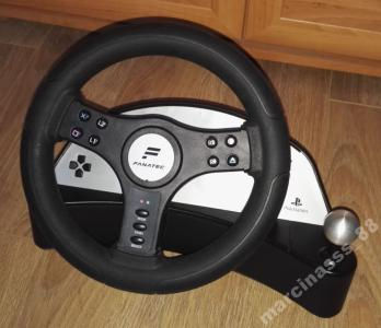 Kierownica do PS2 PS1 PSX z wibracjami SPEEDSTER 2