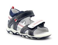 Sandałki chłopięce rzepy Bartek 81824 gr r.21