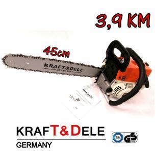 Piła łańcuchowa spalinowa KRAFTDELE 3,9KM 45cm Waw