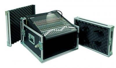 PROEL SA06BLKM rack transportowy 6U + mikser