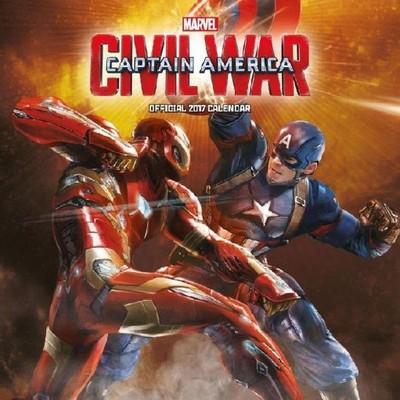Marvel Kapitan Ameryka Wojna Bohaterów Kalendarz
