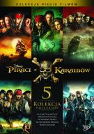PIRACI Z KARAIBÓW KOLEKCJA 5x DVD FOLIA KIELCE