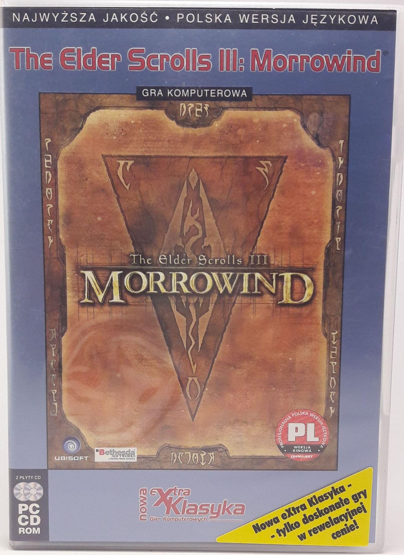 Gra PC The Elder Scrolls III: Morrowind Klasyka