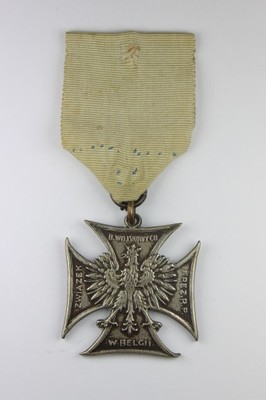 Krzyż Związku B. Wojskowych i Rez.R.P. w Belgii