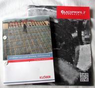 2x katalog Membrany dachowe KLOBER + Blachprofil 2