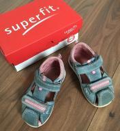 Dziewczęce sandałki Superfit
