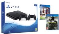 PS4 SLIM 1TB +2 PADY +FIFA +CALL OF DUTY Sklep Wwa