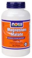 Magnesium Malate , magnez 1000 mg  180 t Now Foods