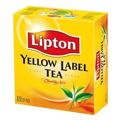 Lipton Yellow Label herbata czarna 150g (100szt.)