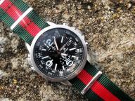 SEIKO PROSPEX *X* SOLAR Chronograf SSC z kompasem