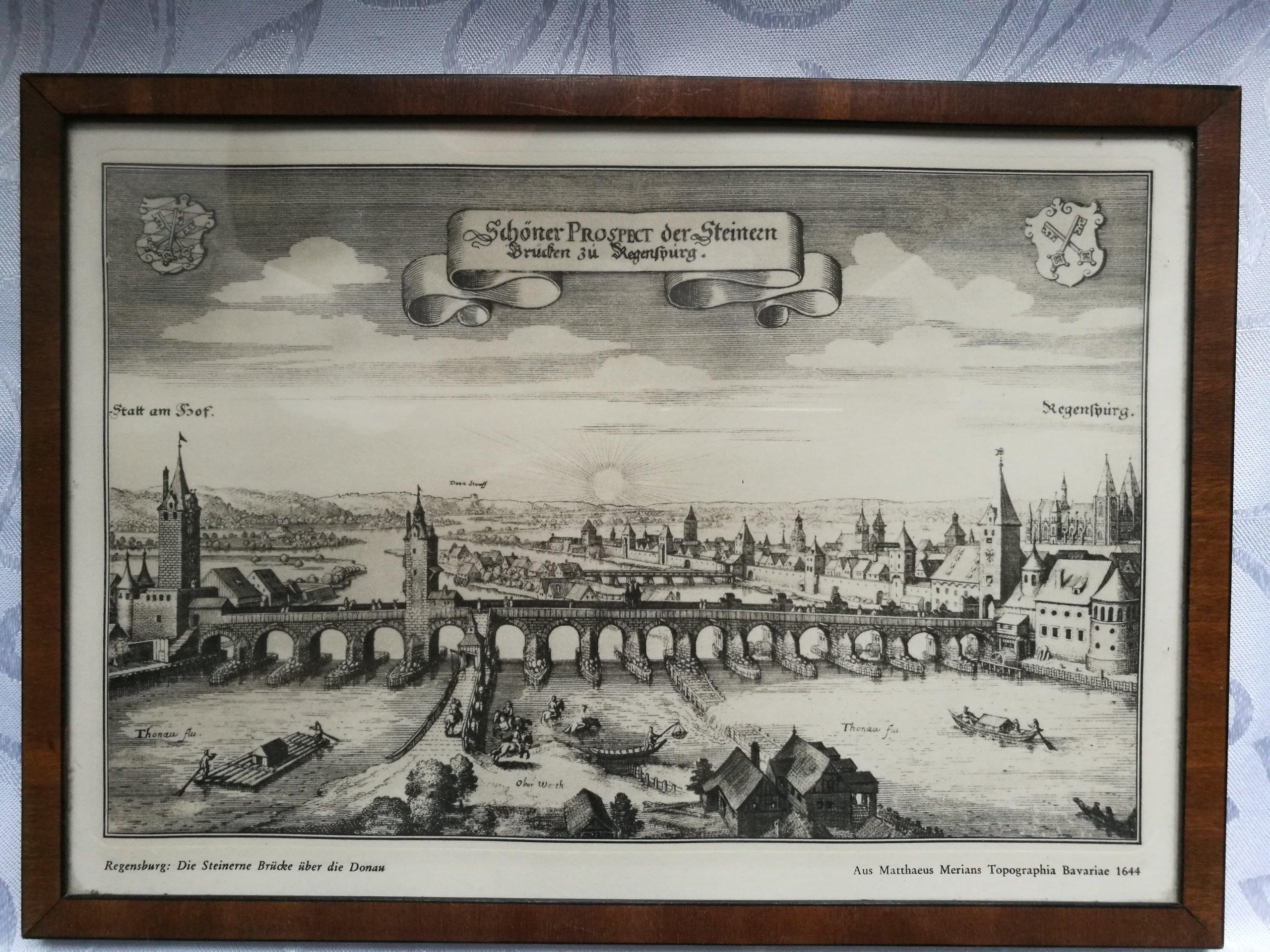 Matthaeus Merians Regensburg 1644