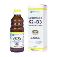 Liposomalna Witamina K2 100mcg + D3 2000I 250ml AC