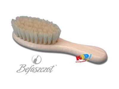 Szczotka z naturalnego włosia dla dzieci