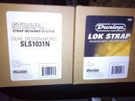 Dunlop lok strap/straplok Blokada paska zestaw 6op