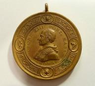 Medal papieski, Leon XIII 1878 r. Duży. (497)