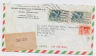 Meksyk - koperta polecona z 1960 roku