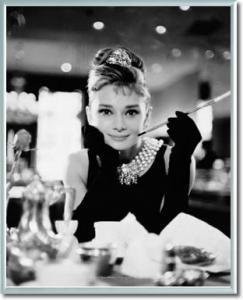 Audrey Hepburn Plakat W Ramie Alu 40x50cm 5852388067
